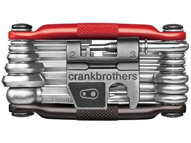 Crankbrothers Multi-19 Multi Tool schwarz/rot